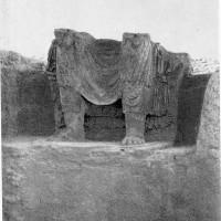 Chapel 17, main cultic image (Buddha Maitreya) (neg 6747-4)