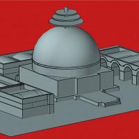 Upper Terrace, preliminary 3D reconstruction (Danilo Rosati; modified by Donatella Ebolese)