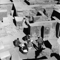 Private apartments, 1962 ©Italian Archaeological Mission in Afghanistan