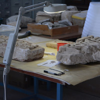 Conservation labs at the Kabul National Museum, 2013 ©IsIAO archives Ghazni/Tapa Sardar Project 2014