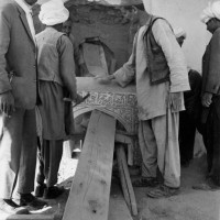 Activities concerning the arch of Mawdud, 1958 ©IsIAO archives Ghazni/Tapa Sardar Project 2014