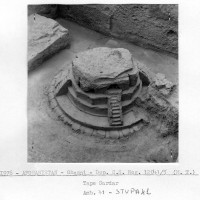 Minor cultic areas - Room 41 and Stupa 41