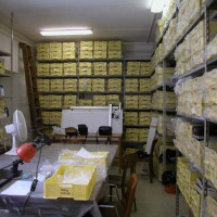 Storeroom of the Ghazni finds at the IsIAO Archaeological Center, 2007 ©IsIAO archives Ghazni/Tapa Sardar Project 2014