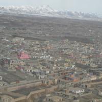 Flight over Kabul to Ghazni, 2013 ©IsIAO archives Ghazni/Tapa Sardar Project 2014