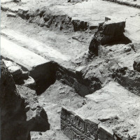 Entrance area, 1961 ©Italian Archaeological Mission in Afghanistan