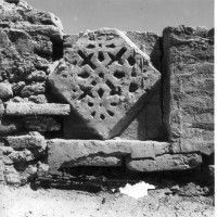Brickwork in entrance area, 1961 ©Italian Archaeological Mission in Afghanistan