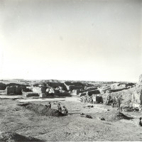 View from north, 1959 ©Italian Archaeological Mission in Afghanistan