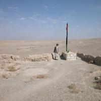 Hajji Naqshband Rajabi in the ziyara 'Abd al-Salam, 2002 ©IsIAO archives Ghazni/Tapa Sardar Project 2014