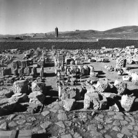 Brickworks assembled in the western area, 1966 ©Italian Archaeological Mission in Afghanistan