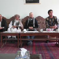 Meeting at the Kabul National Museum, 2012 ©IsIAO archives Ghazni/Tapa Sardar Project 2014