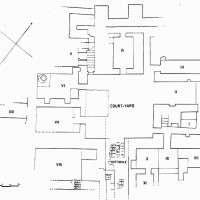 Plan of the house of lustre-wares, 1958 ©IsIAO archives Ghazni/Tapa Sardar Project 2014