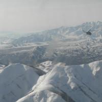 Flight to Ghazni, 2013 ©IsIAO archives Ghazni/Tapa Sardar Project 2014
