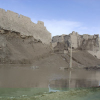 Walls of the citadel of Ghazni, 2005 ©IsIAO archives Ghazni/Tapa Sardar Project 2014
