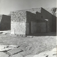 West area of courtyard, view from east, 1964 ©Italian Archaeological Mission in Afghanistan