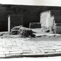 West area of courtyard, 1962 ©Italian Archaeological Mission in Afghanistan