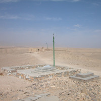 Tombs in a cemetery, 2002 ©IsIAO archives Ghazni/Tapa Sardar Project 2014