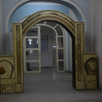 Entrance of the Islamic galleries at the Kabul National Museum, 2013 ©IsIAO archives Ghazni/Tapa Sardar Project 2014