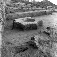 Minor cultic areas - Room  87, with star-shaped fire altar (neg 11461-3)