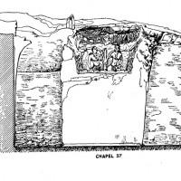 Chapel 37, elevation (drawing by N. Labianca)
