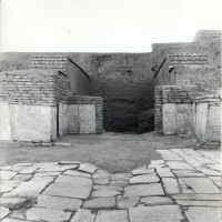 West area of courtyard with antechamber and rear room in 1962 ©IsIAO archives Ghazni/Tapa Sardar Project 2014