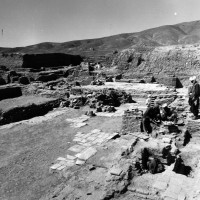 Entrance area, view from east, 1962 ©Italian Archaeological Mission in Afghanistan
