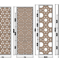Graphic reconstruction of terracotta panels (C. Passaro 2014). Copyright: ©IsIAO archives Ghazni/Tapa Sardar Project 2014