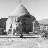 Ziyara of Ibrahim, view from east, 1976 ©Italian Archaeological Mission in Afghanistan