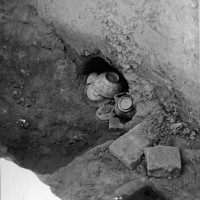 Repository with lustre-wares and other objects, 1957 ©IsIAO archives Ghazni/Tapa Sardar Project 2014