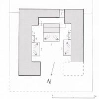 Fig. 15 - Zone 10: Chapel 8:  ground plan