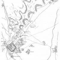 Plan of Ghazni, 1878