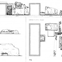 Plan and elevation of Chapels 23 and 17 (Dep. CS 4023)