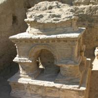 Fig. 36 - Terrace 5: stūpa in Chapel 2