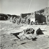 West area view from north-east, 1959 ©Italian Archaeological Mission in Afghanistan