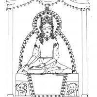 Upper Terrace - Throne 6, preliminary reconstruction (Anna Maria Fedele)