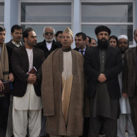 Ceremony for the opening of the building for the new Islamic Museum in Ghazni, 2013 ©IsIAO archives Ghazni/Tapa Sardar Project 2014